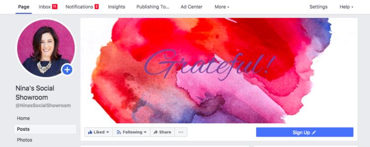NPS Facebook page