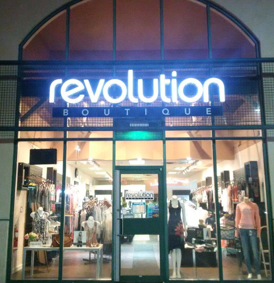 Shop Talk | Revolution Boutique storefront